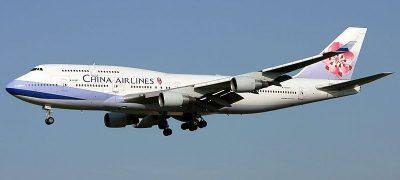 China Airlines - Flug nach China