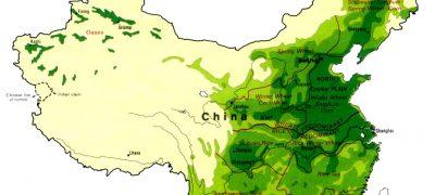 Landwirtschaft und Anbaugebiete Chinas