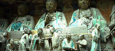 Chongqing - Felsskulpturen von Dazu