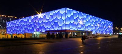 Water-Cube Peking - Nationales Schwimmstadion