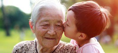 China Bonität Großeltern