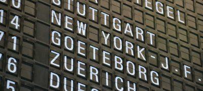Vom Flughafen Stuttgart nach Shanghai