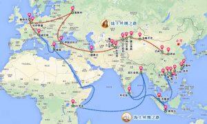 Neue Seidenstraße - New Silk Road