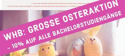 10% Rabatt auf Studiengänge bei der Wilhelm Büchner Hochschule